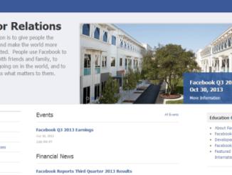 facebook earnings