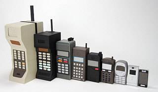 Miniaturisierung der Handys