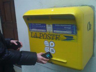 NFC Briefkasten Paris