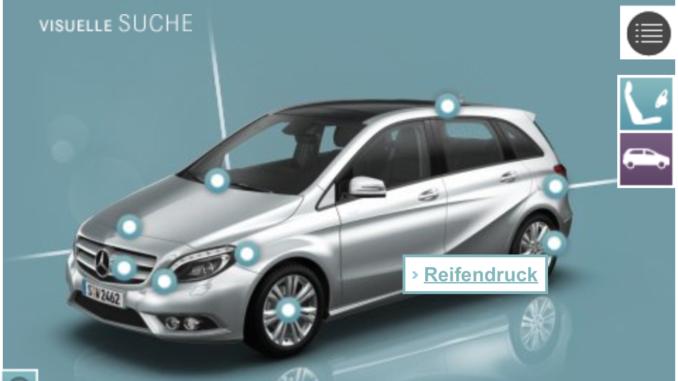 die mobile bedienungsanleitung von mercedes benz: b-class guide app