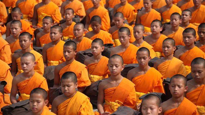 Mehr Android gläubige als Buddhisten