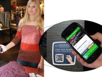 COUPIES NFC Einlösung