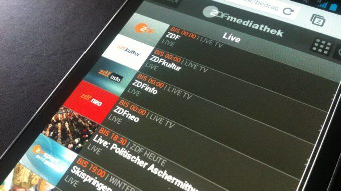 ARD und ZDF als Livestream