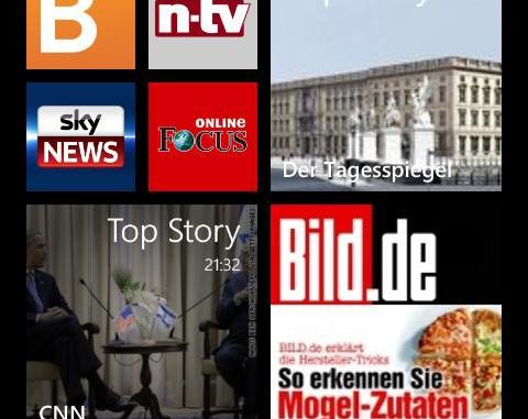 News AppsfürWindowsPhone