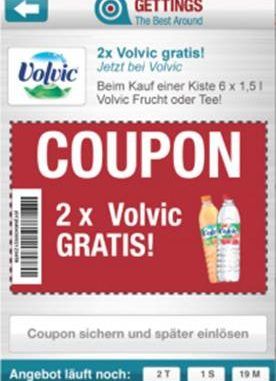 Volvic Mobile Couponing