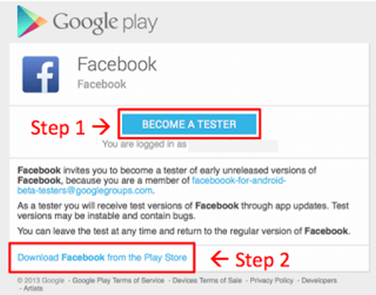 facebook-beta-programm