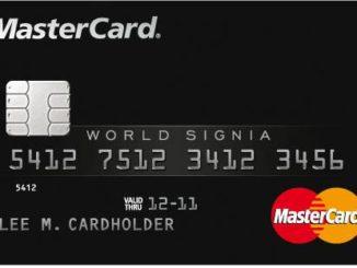 MasterCard WorldSignia