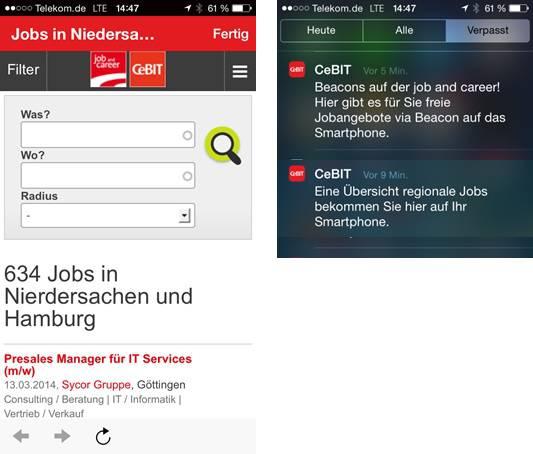 iBeacon Mobile Zeitgeist