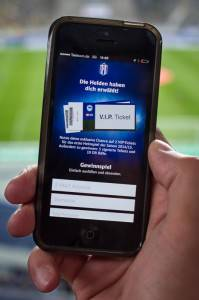Hertha Helden App