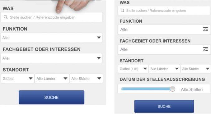 Allianz mobile recruiting
