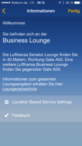 Lufthansa Beacon Mobile Zeitgeist