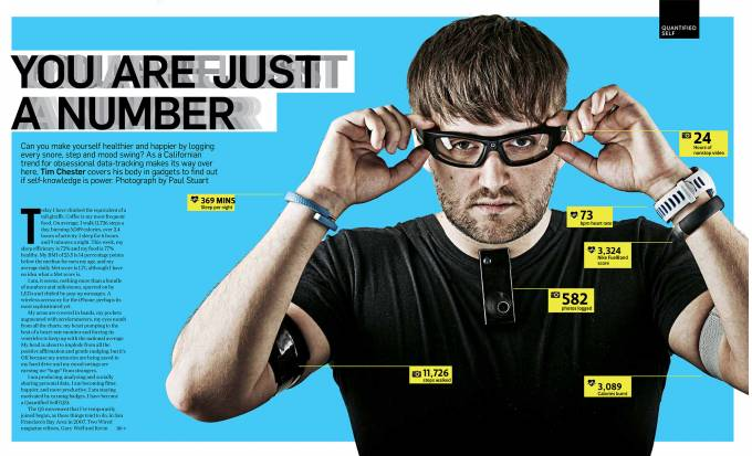 YOU ARE JUST A NUMBER. Quelle: Sunday Times Magazine: Quantified Self timchester.com
