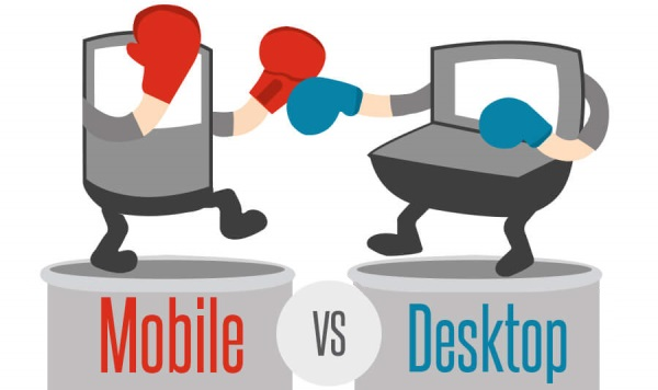 mobile vs desktop