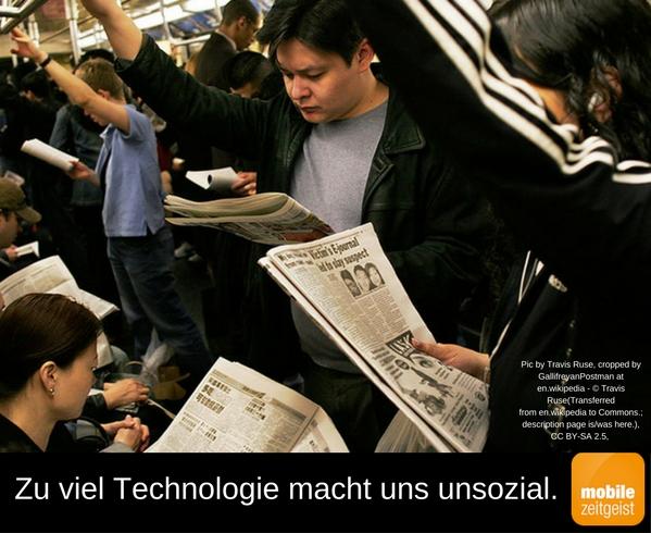 Zu viel Technologie macht uns unsozial