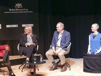 Auf dem new.New Festival 2018 wurden Innovationen rund um Künstliche Intelligenz präsentiert.