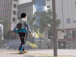 Beim Toyota Mobility Wettbewerb gab es auch Konzepte von einem Exoskelett.