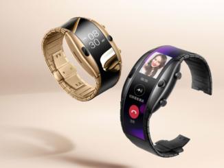Smartphone - Smartwatch Hybrid nubia Alpha kommt mit einem flexiblen Bildschirm.