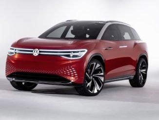 Volkswagen präsentiert seinen großen elektrischen SUV für 2021 mit dem I.D. Roomzz Konzept.In Shanghai hat Volkswagen erste Hinweise zu seinem kommenden, elektrischen SUV gegeben.