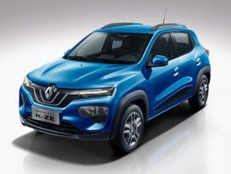 Renault präsentiert sein erstes Elektroauto-SUV in Shanghai vor: den City K-ZE.