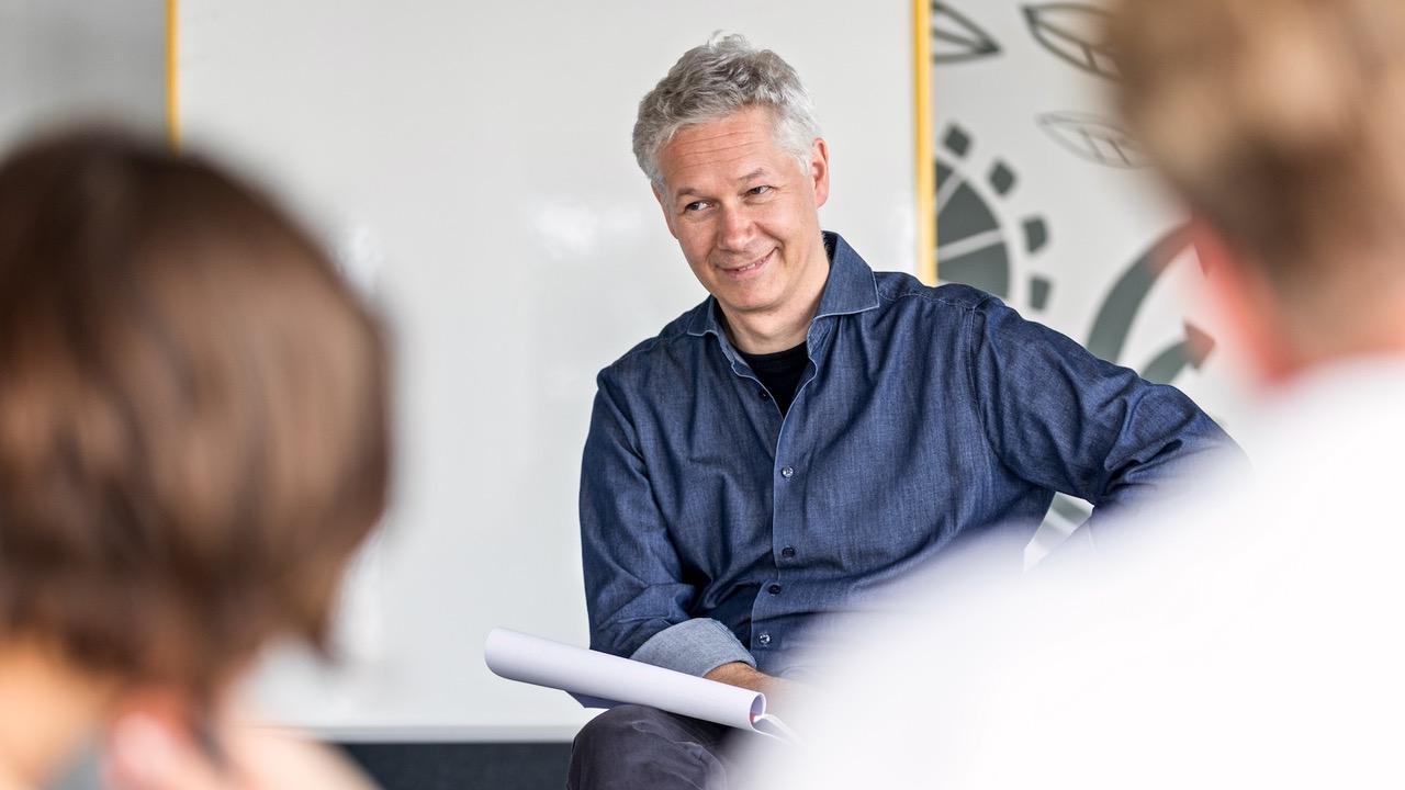 Speaker Training Matthias Messmer GSA Mentees ROTER FADEN Workshop